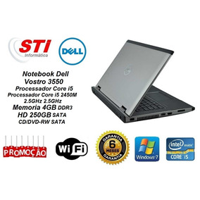 Notebook Dell Vostro 3550 Core I5 4gb Memoria Hd 250gb