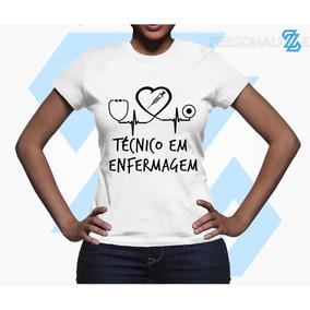 836aa9772 Latinhas Personalizadas Enfermagem - Camisetas Manga Curta no ...