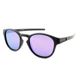 614e23464d51d Óculos De Sol Oakley Latch Violet Iridium Espelhado Oo9265l