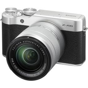 Fujifilm Camara Fujifilm X-a10 Plata Xc 16-50mm F/3.5-5.6 Oi