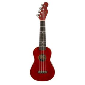 Ukulele Fender Soprano Venice Cherry