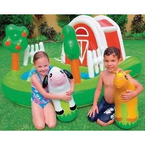 Piscina Playcenter Fazendinha Intex Frete Grátis