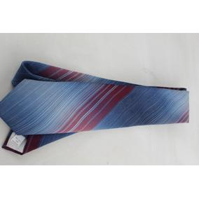 Corbata 014 Wembley 100% Polyester Vintage Azules Vinos