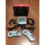 Super Consola Mini Retro Calidad Hd 621 Juegos De Nes Y Snes