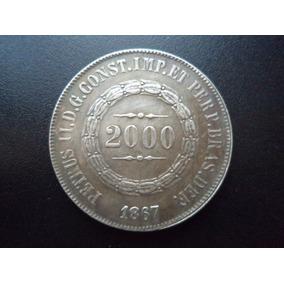 Moeda 2000 Réis De 1867 - Réplica