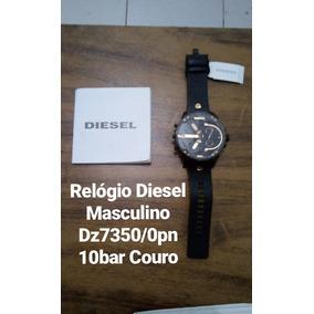 Relógio Diesel Masculino Dz7350/0pn 10bar Couro