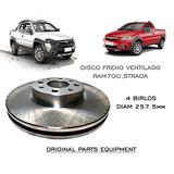 Disco Freno Ram700 Palio Hatchback 4 Birlos