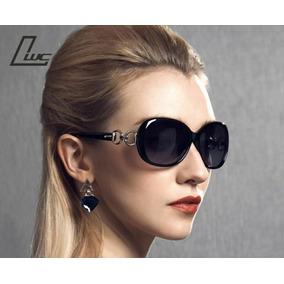 c0f8b0af65e5d Oculos De Sol Moderno E Redondo Grande - Óculos no Mercado Livre Brasil
