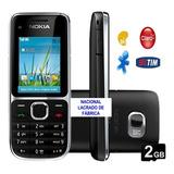 Celular Nokia C201,lacrado 3g Anatel Desbloq Cartão Nacional