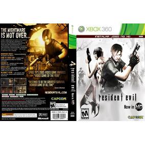 Xbox 360 Resident Evil 4 Hd Destravado Lt3.0