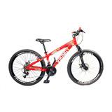 Bicicleta Aro 26 Vikingx Tuff Freeride Freios A Disco