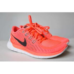 388878119cc Nike Free 5.0 Feminino - Tênis Laranja no Mercado Livre Brasil