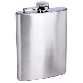 Cantil De Aço Inox Porta Bebida De Bolso 175 Ml