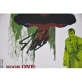 Autógrafo De Stan Lee Com Certificado! Hq Homem Aranha