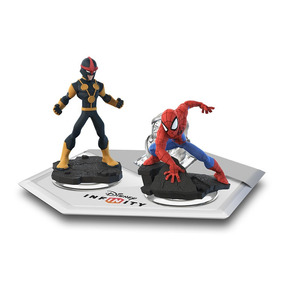 Disney Infinity: Marvel Super Heroes Homem Aranha + Nova Set