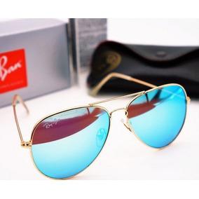 db9f50a52baaa Oculos Aviador Lentes De Cristal Espelhado Sol - Óculos no Mercado ...