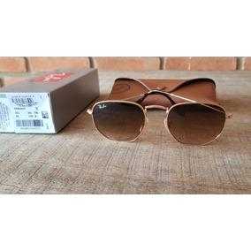 Ray Ban Hexagonal Tamanho 51 Round - Óculos no Mercado Livre Brasil 17558927a3