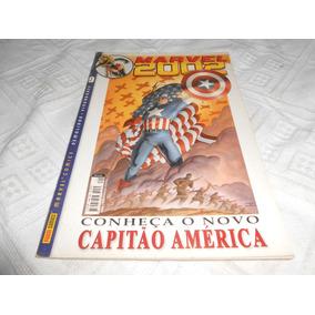 Hq Marvel 2002 Capitão America Contra O Talibã. Apos 11/9.