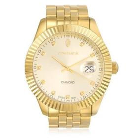 6ab503ec23a Relogio Constantim Classic Gold - Relógios De Pulso no Mercado Livre ...