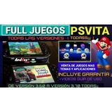 Muchisimos Juegos Para Tu Psvita Psp Vita Toda Version