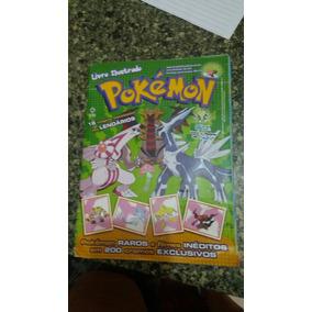 Álbum Pokemon 2010 Faltam 6 Card + 2 Coleção Adesivos Vazios