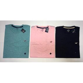 Kit 3 Camisetas Camisas Abercrombie Hollister Original