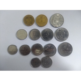 Moedas Nacionais Brasileiras Antigas Para Coleção