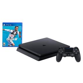 Consola Sony Ps4 Slim 1 Tb + Fifa 19 Negro