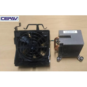 Kit Cooler Heatsink Dissipador Hp Dc 8000 Mais Duto De Ar