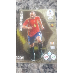 Card Icon Copa 2018 Andres Iniesta