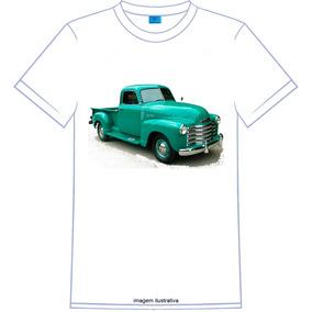 Camiseta Pickup Chevrolet 3100 Individual Personalizada