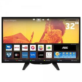 Smart Tv Led Aoc Le32s5760 32 Hd Wi-fi Hdmi/usb - Preto