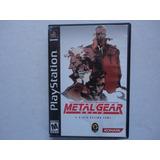 Metal Gear Solid 1 Completo Playstation 1, Ps1 Ps2 Y Ps3