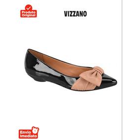 eb767b6049 Sapato Feminino Laço Em Cima Vizzano - Sapatos no Mercado Livre Brasil