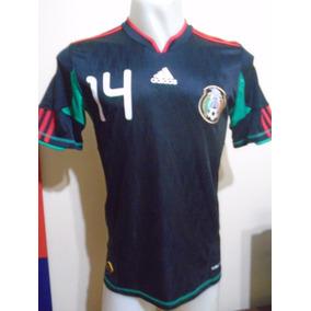 5a532f98effce Camiseta Selección México 2010 Chicharito Hernández  14 S- M