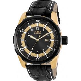 Relógios Invicta Originais Pulseira Em Couro Promoção
