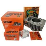Kit Competição Completo Kmp Cg 150 Fan Bros 150 P/ 220cc 70m