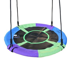 1 * Green 40 Mixed-color Saucer Nest Tree Swing - Giga-7259