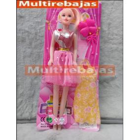 Muñeca Babie Vestido Y Accesorios