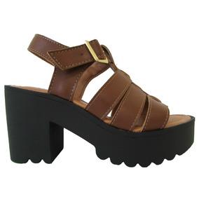 5c17e8055 Tendencias Primavera Ver O 2017 Sandalias - Sapatos Marrom no ...