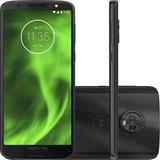 Celular Motorola Moto G6 Preto Dualchip 64gb Tela 5.7 C