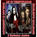The Vampire Diarie + Os Originais - Serie (13 Temporadas)