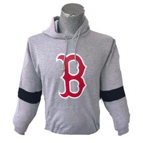 Sudadera Hoodie Beisbol Boston Majestic Rojo Original Oferta f8489ac2069