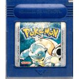 Juego De Game Boy Pokemon Blue Edicion Español