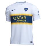 Camisa Do Boca Juniors Branca 18/19 - Frete Grátis