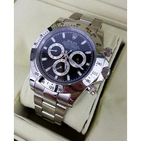 Reloj Rolex Daytona Acero Esfera Negra Automatico