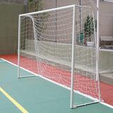 Par Rede Gol Futsal Futebol De Salão Fio 4mm Proteção U.v. 29c8c30eb1b03