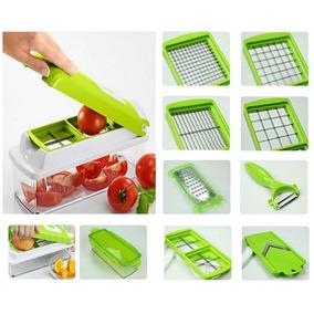 Cortador Fatiador Legumes Frutas E Verduras Nicer Original