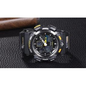 1b0e6ca3c4f Relogio De Mergulho Com Fundo Amarelo - Relógio Masculino no Mercado ...