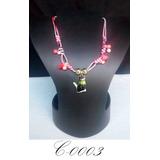 dadb6de75a28 Collar Juvenil En Piel De Serpiente Fashion Choker Bisuteria